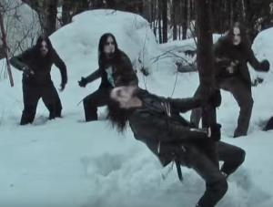 Only the purest Black Metal hump trees.